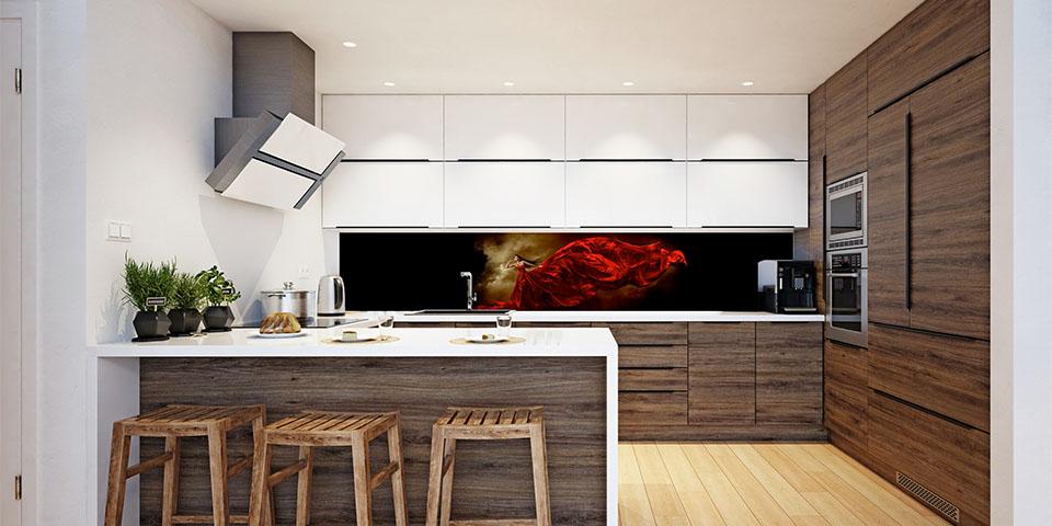 Decoratieve Keukenwanden Op Maat Geprint De Ultieme Finishing Touch Binnenwerk